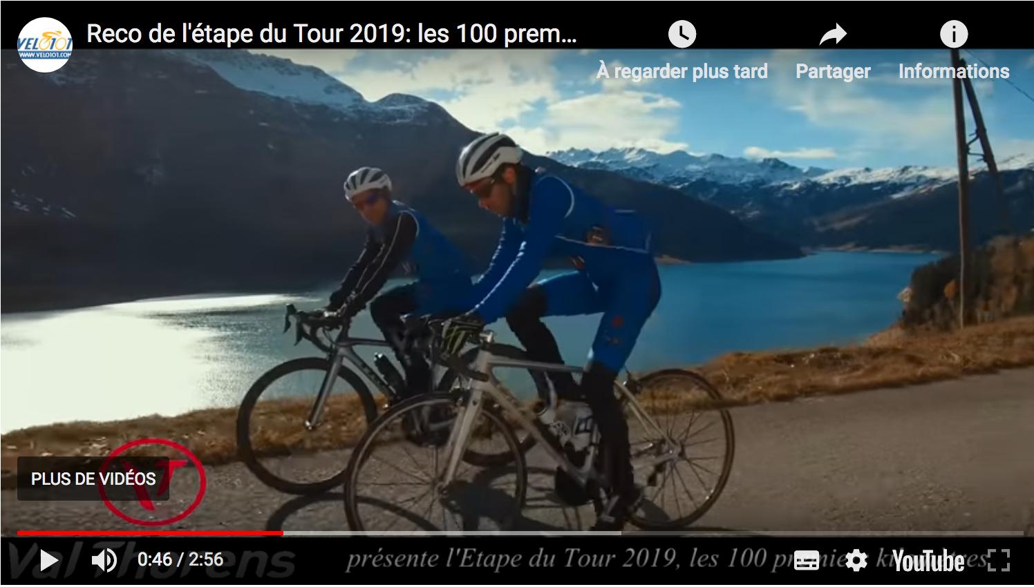 Reco l'étape du Tour 2019: les 100 premiers kilomètres entre Albertville et Salins-les-thermes.