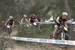 Coupe de France VTT 2014 à Cassis - XC Eliminator