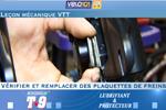 Leçon mécanique - Changer les plaquettes de freins